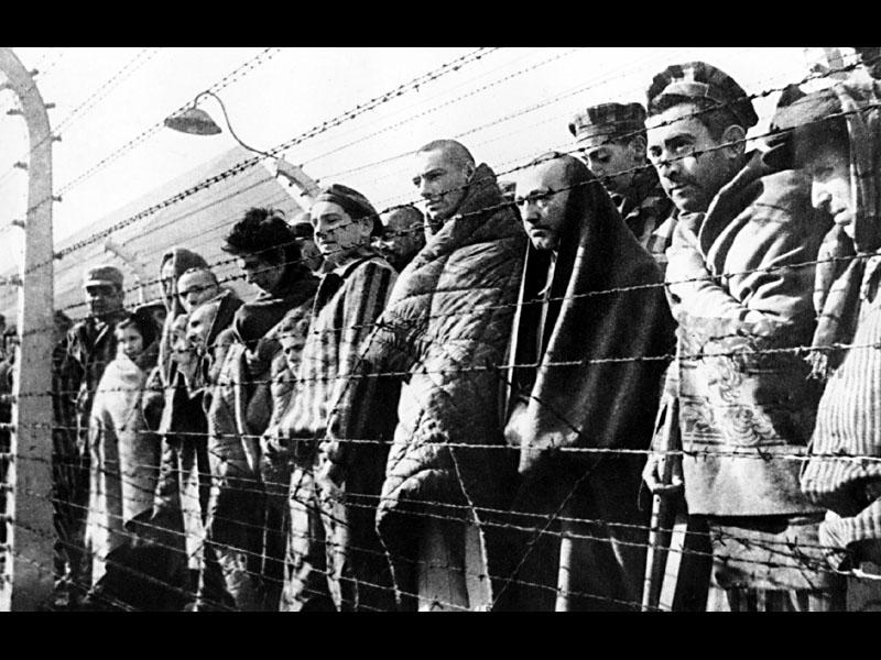 Заключенные концлагеря Бухенвальд